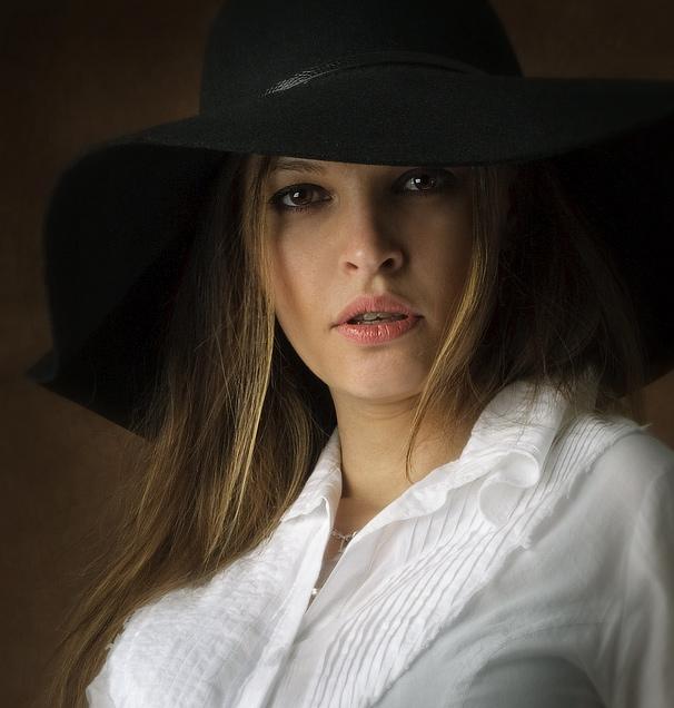 Portrait with a Black Hat